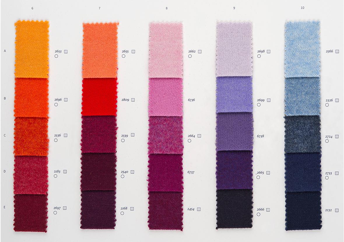 AI22 Cartella Colore - Cashmere 2