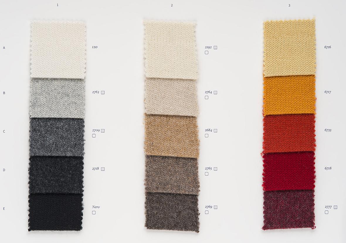 AI22 Cartella Colore - Cashmere Vintage
