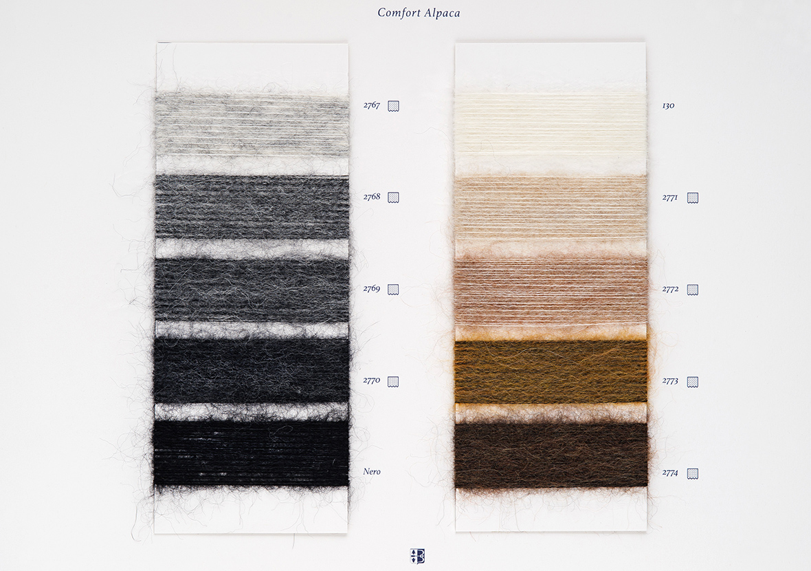 AI22 Cartella Colore - Comfort Alpaca